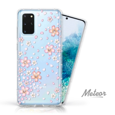 Meteor Samsung Galaxy S20+ 奧地利水鑽殼 - 櫻花