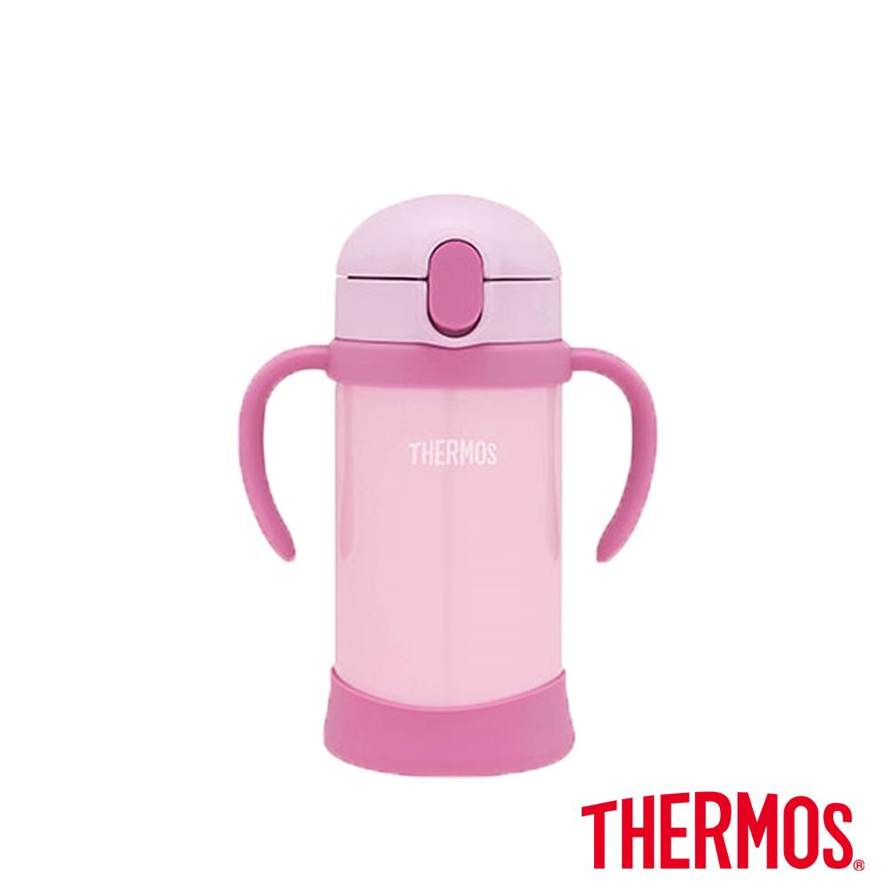 THERMOS膳魔師不鏽鋼兒童學習杯0.35L(FHV-350-P) product image 1
