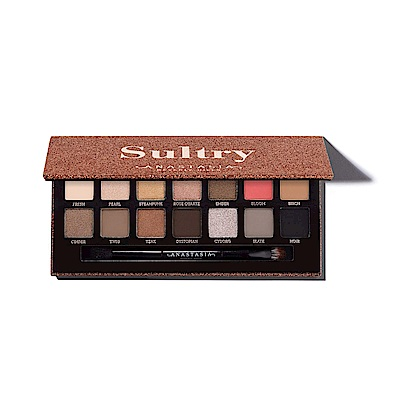 ANASTASIA BEVERLY HILLS Sultry14色眼影盤0.83gx14