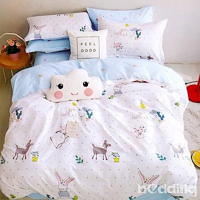 BEDDING-專櫃純棉5x6尺春夏涼被-歡樂玩伴