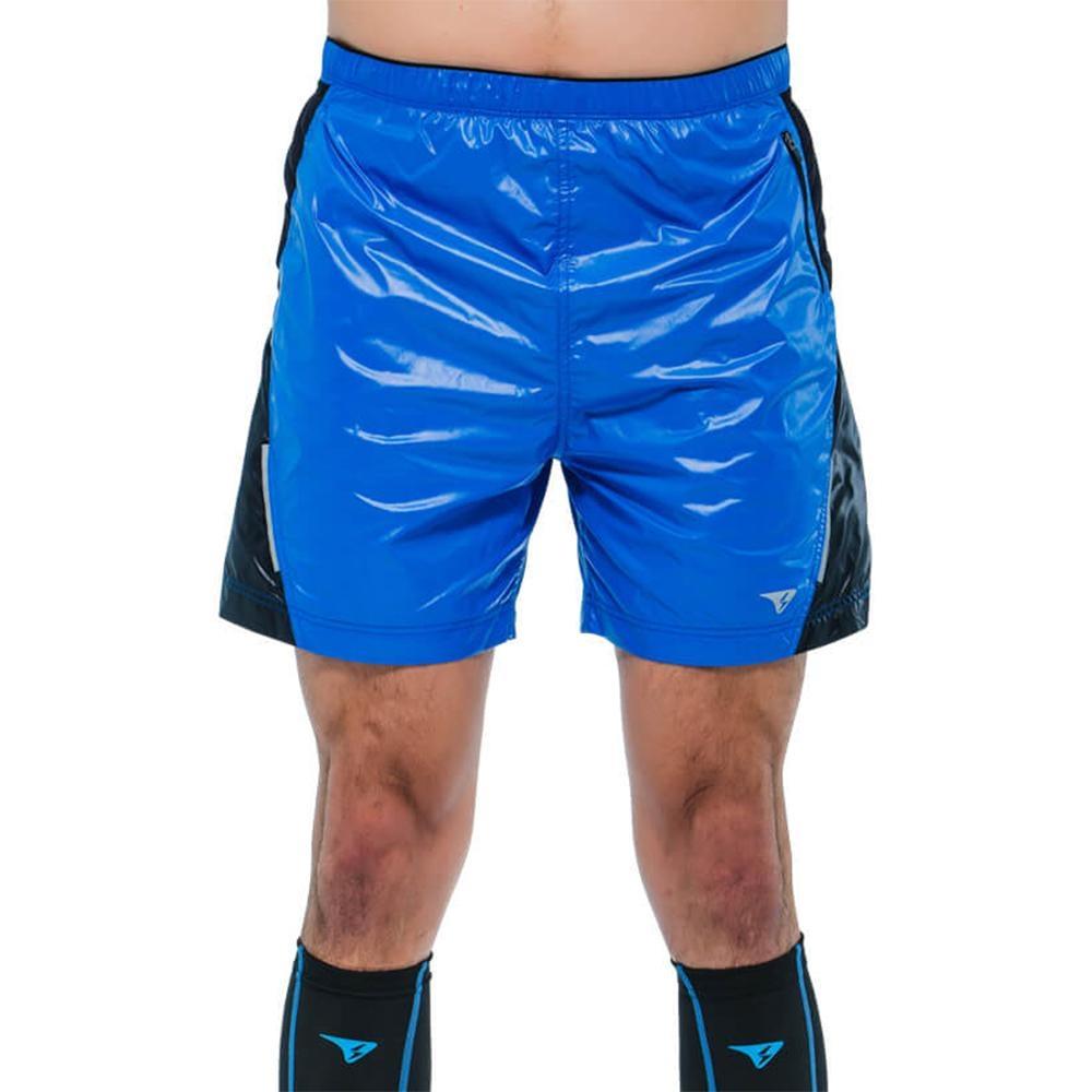 SUPERACE SR-TRAIL二合一越野跑短褲 / 男款 / 藍色