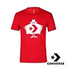 CONVERSE BURGLAR T 男短袖T恤 紅 10008824-A03