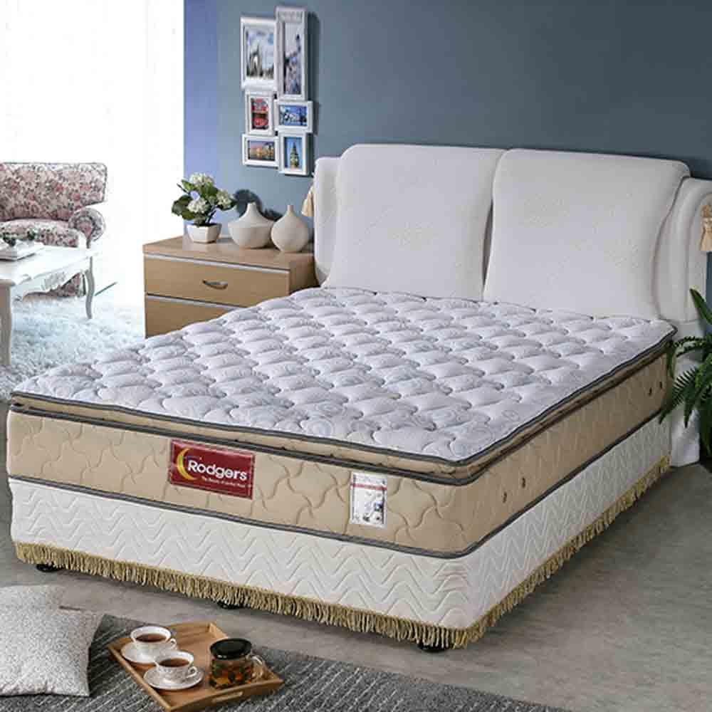 舒伯特606三線乳膠1088調溫獨立筒床墊-雙人特大6*7尺