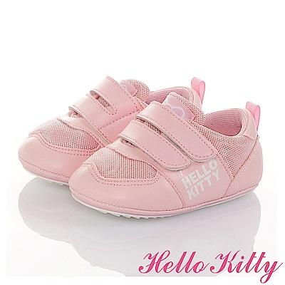 HelloKitty 透氣輕量減壓寶寶學步童鞋-粉