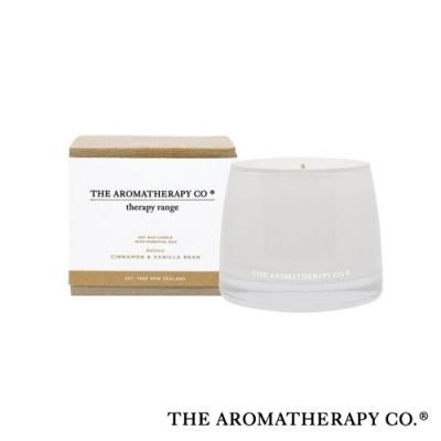 The Aromatherapy Co. 紐西蘭天然香氛 Therapy系列 香草肉桂 Cinnamon Vanilla Bean 260g 香氛蠟燭