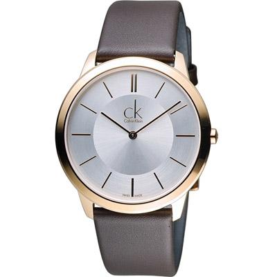 Calvin Klein Minimal 俐落時尚腕錶(K3M216G6)40mm