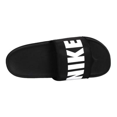 NIKE OFFCOURT SLIDE 男運動拖鞋-海邊 戲水 游泳 BQ4639012 黑白