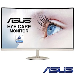 ASUS VZ27VQ 27型 超薄無邊框曲面電腦螢幕