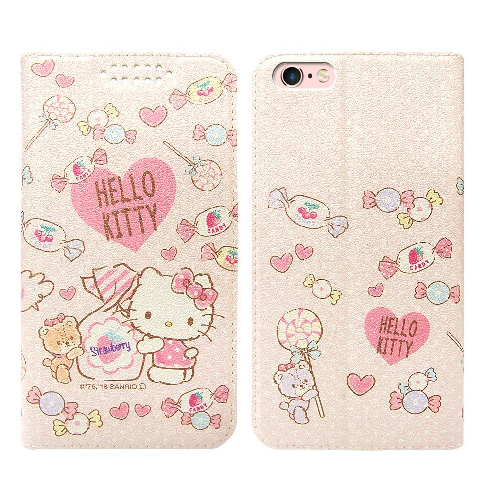 三麗鷗授權 iPhone 6s Plus/6 Plus 粉嫩系列彩繪磁力皮套(軟糖)