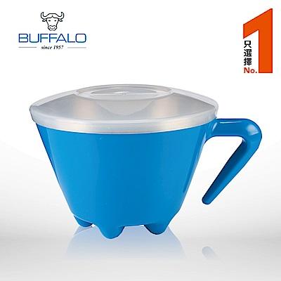 牛頭牌不鏽鋼雙層杯碗620cc / 單入-藍色