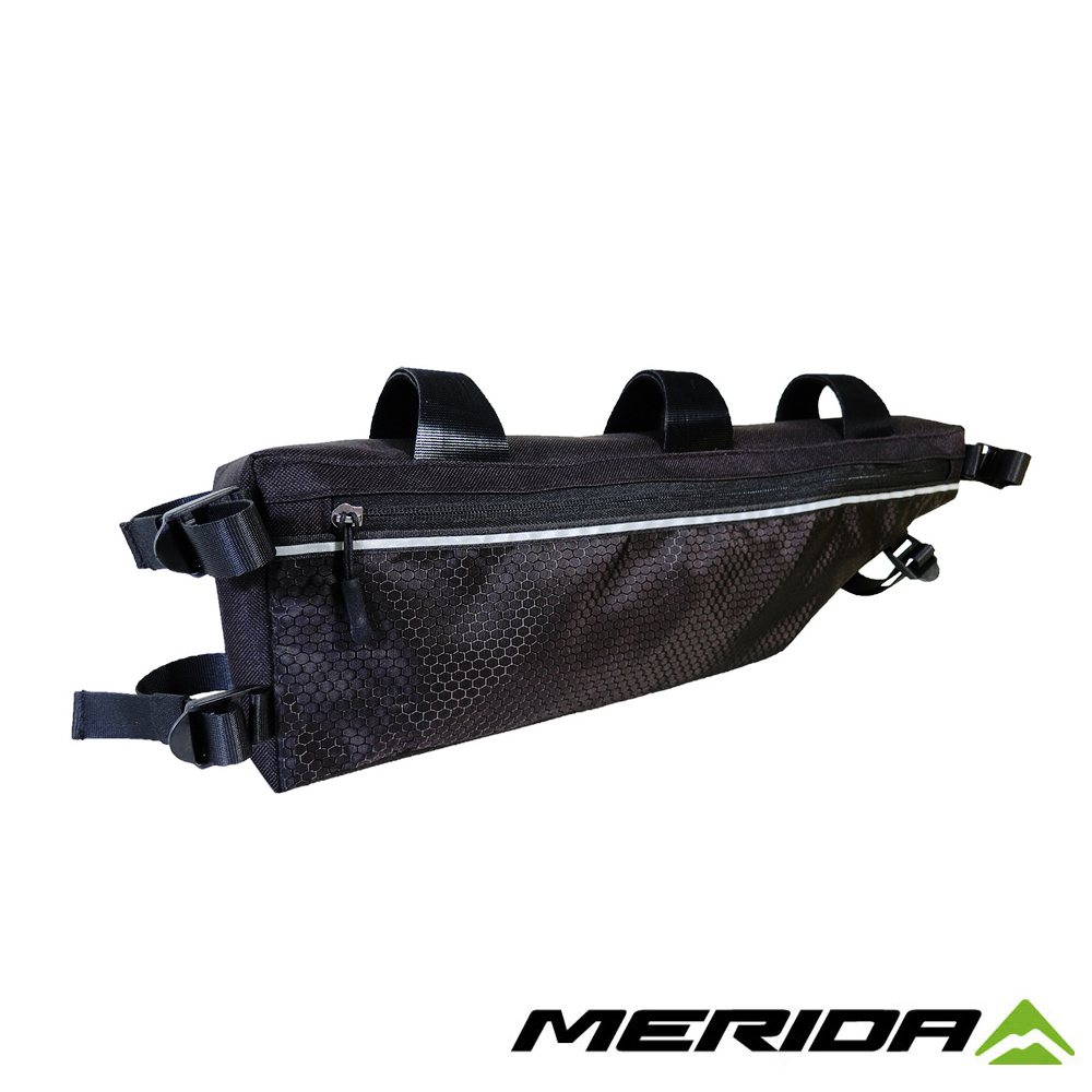 《MERIDA》美利達 自行車上袋 黑/灰 2276004013