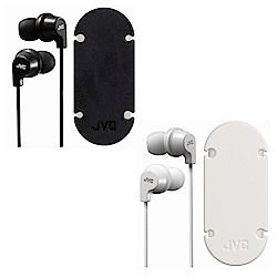 JVC吸盤式捲線器耳道式耳麥HA-FR21