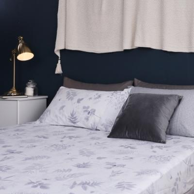 Jumendi喬曼帝 200織精梳純棉-單人床包二件組-年華漫語