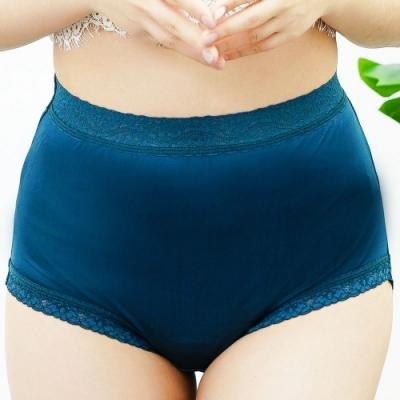 闕蘭絹典雅舒適100%蠶絲內褲-88425(藍)