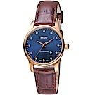 MIDO美度永恆系列午夜藍機械女錶(M76003658)