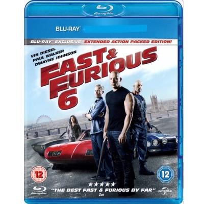 玩命關頭6  Fast & Furious 6 藍光 BD