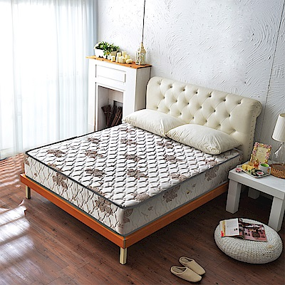 A家-輕女性專用-特級涼感抗菌側邊強化獨立筒床墊-單人3.5尺