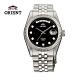 ORIENT 東方錶 WILD CALENDAR系列 蠔式型機械錶 鋼帶款 黑色 SEV0J003B product thumbnail 1
