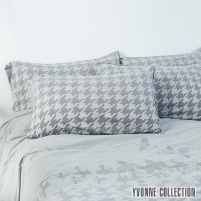 YVONNE COLLECTION 千鳥格紋枕套
