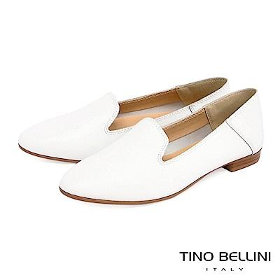Tino Bellini 義大利進口經典臘感樂福鞋 _ 白