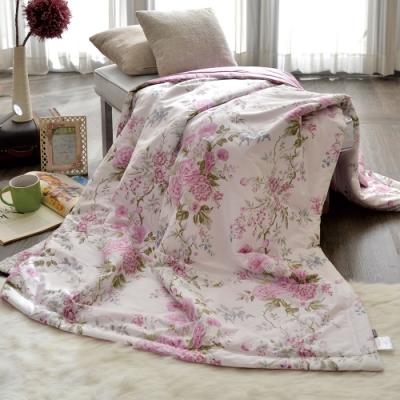 義大利La Belle 花曜薔薇 純棉涼被 5x6.5尺