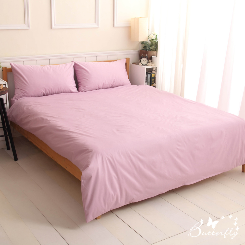 BUTTERFLY-SGS專業級認證抗菌高透氣防水保潔墊-單人床包-紫色