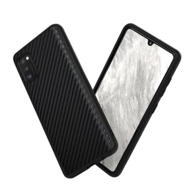 犀牛盾Samsung Galaxy A41 SolidSuit 碳纖維防摔背蓋手機殼