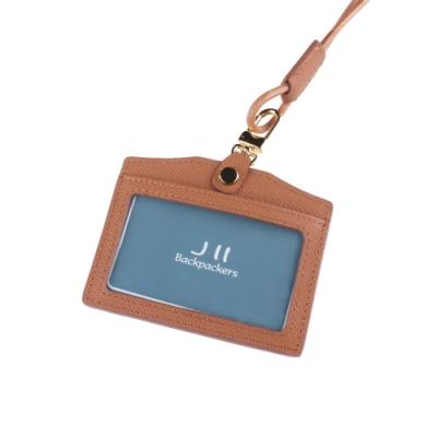 J II 粗礦牛皮橫式雙卡證件套-2102-5