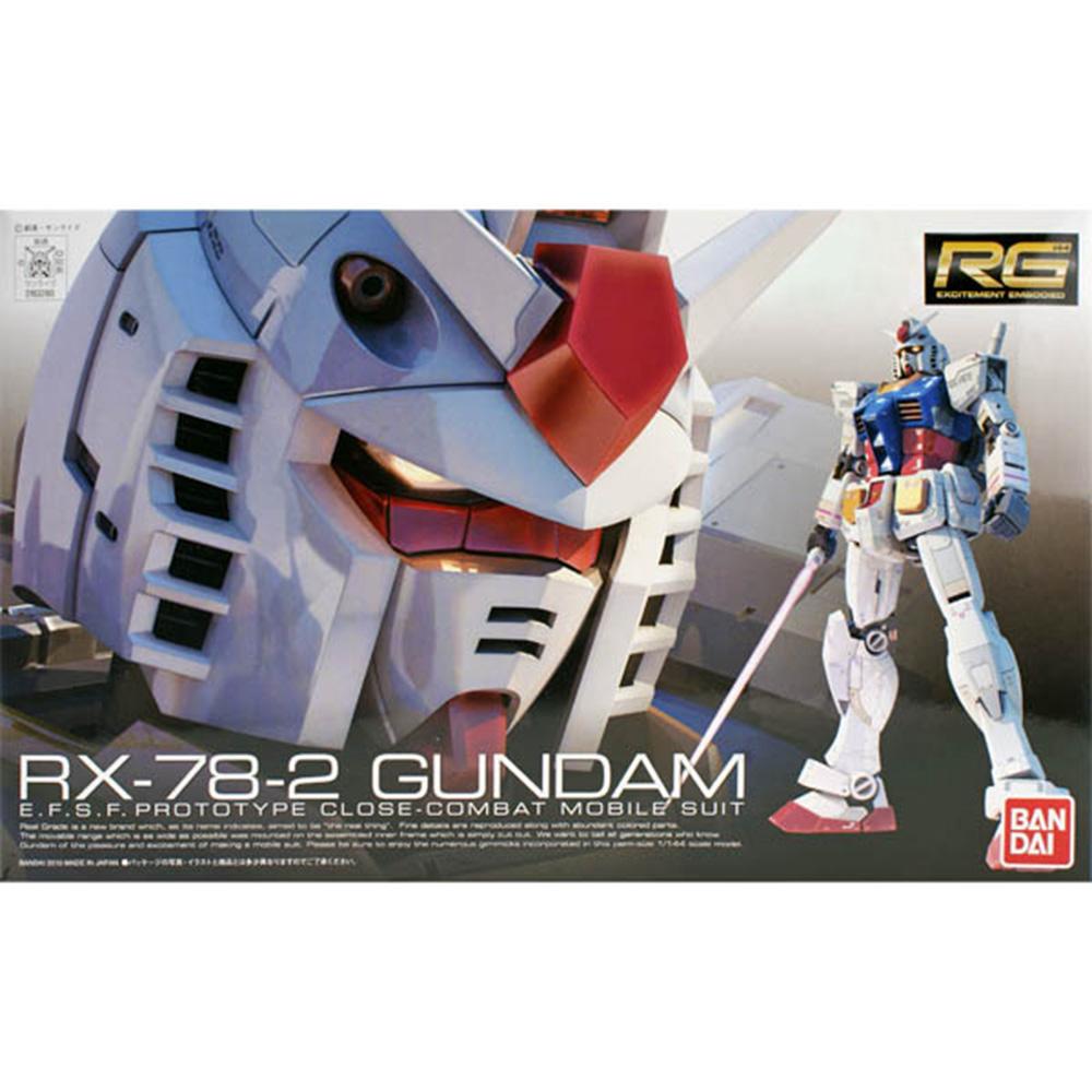 【BANDAI】鋼彈/RG 1:144 RX-78-2 鋼彈
