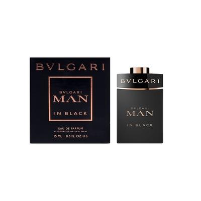 BVLGARI寶格麗 MAN IN BLACK 當代真我男性淡香精15ml (噴式小香)