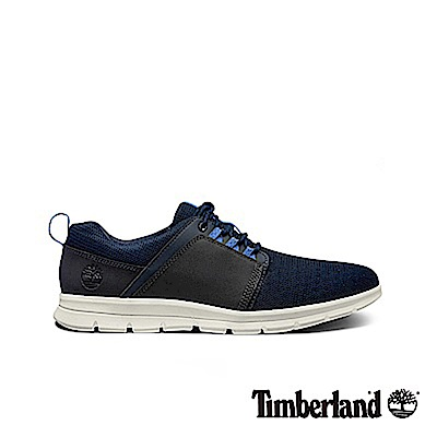 Timberland 男款海軍藍戶外運動泡棉鞋墊休閒鞋|A1HSJ
