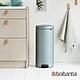 【Brabantia】NEWICON環保垃圾桶-30L金屬藍(新品上市) product thumbnail 1