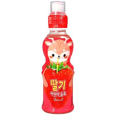NO BRAND 可愛動物飲料-草莓風味(200ml)