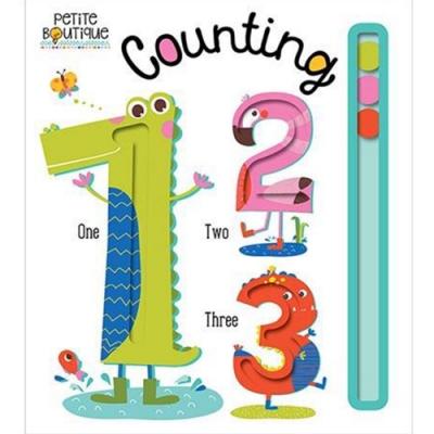 Petite Boutique:Counting 123數數字硬頁學習書