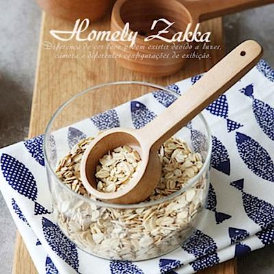 Homely Zakka 木趣食光自然深型木質湯匙咖啡豆勺-小(14.7cm)