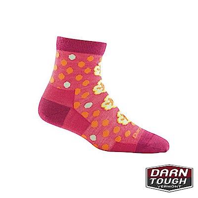 【美國DARN TOUGH】女羊毛襪FLOWER 生活襪(2入隨機)