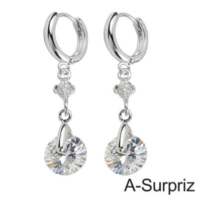 A-Surpriz 愛情光芒鋯石耳環