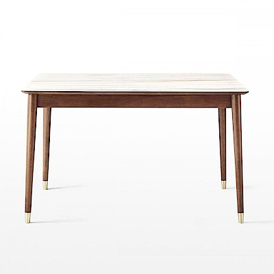 hoi! 林氏木業現代簡約大理石紋1.2M餐桌 LS003 (H014297379)