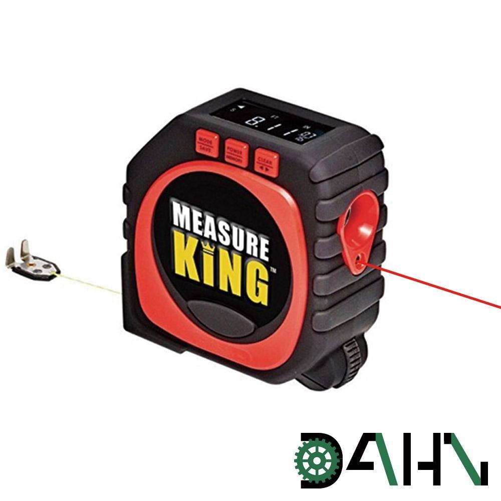 DAHN達恩 三合一LED數顯紅外線激光測距儀/工程測量卷尺3M
