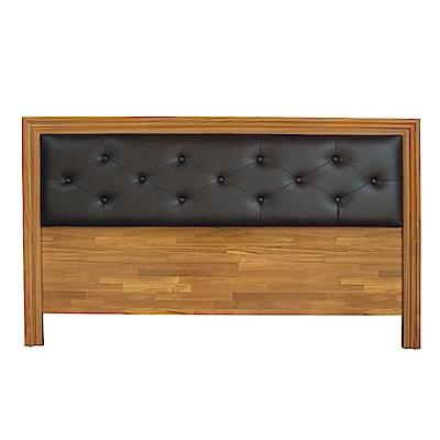 綠活居 多利爾3.5尺皮革單人床頭片(三色)-108.6x2.1x93.3cm免組