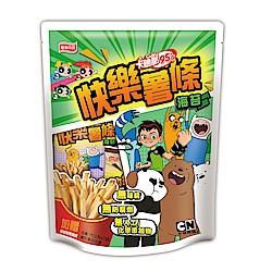 卡迪那95℃ 快樂薯條海苔口味(15gx7包)