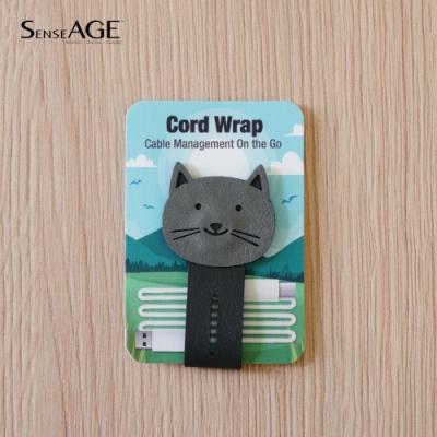 SenseAGE 磁吸式動物捲線器-小貓