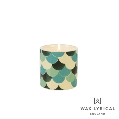 英國 Wax Lyrical 大地系列香氛蠟燭-佛手柑綠茶 Green Tea & Bergamot 68g