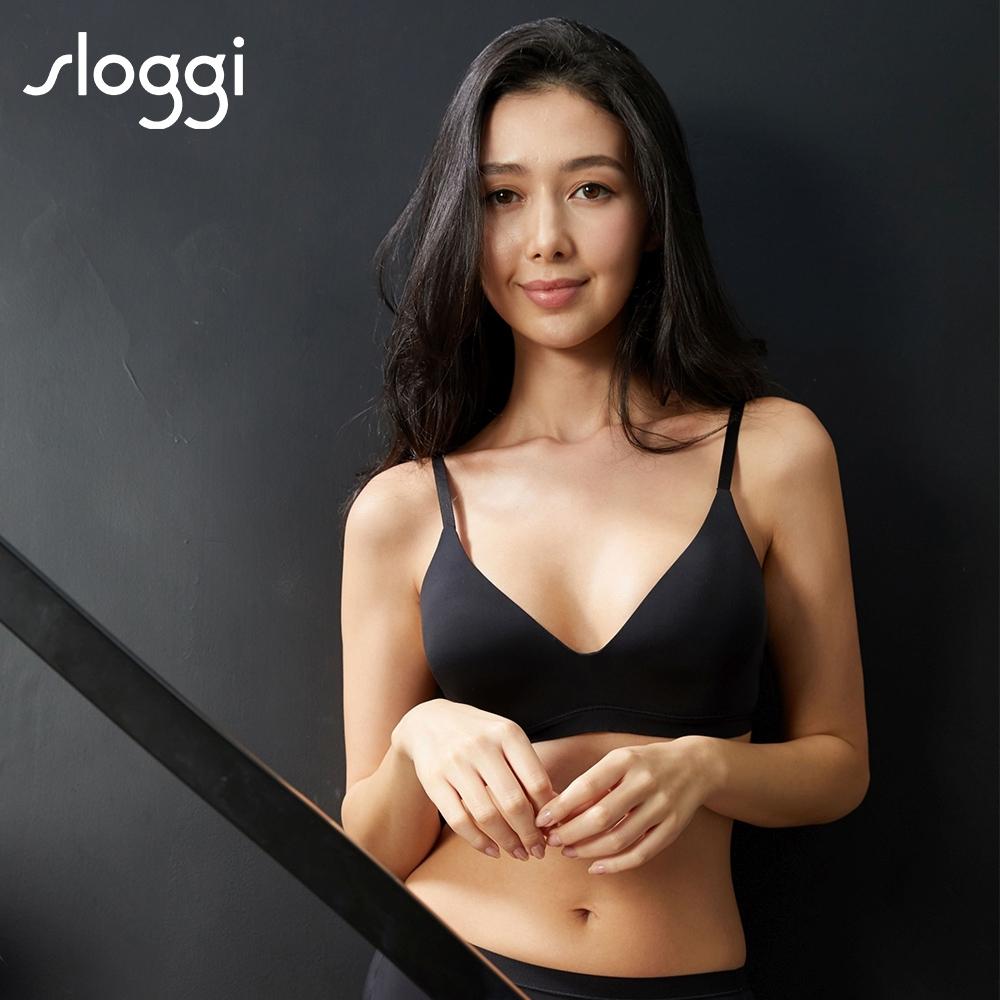 sloggi WOW Comfort系列無鋼圈輕盈薄襯款內衣 S-EL 純粹黑 11-1778 04