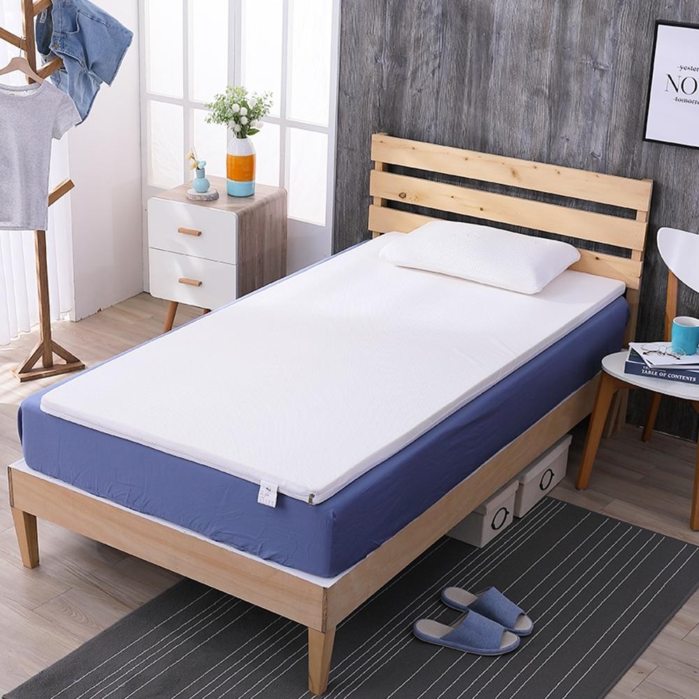 鴻宇 乳膠床墊 100%乳膠 單人床 SGS檢驗無毒 學生床墊 外宿