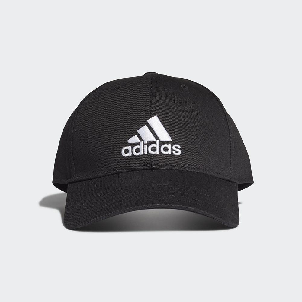ADIDAS 休閒 運動 老帽 棒球帽 黑 FK0891 UNISEX BASEBALL CAP