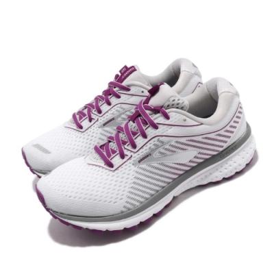 Brooks 慢跑鞋 Ghost 12 D Wide 寬楦 女鞋