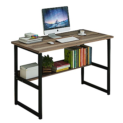 CityShop 時尚簡約多功能收納電腦桌A51-中款100公分