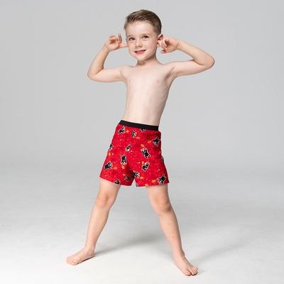 DADADO-熊厲害 110-130男童內褲(紅) 品牌推薦-舒適寬鬆