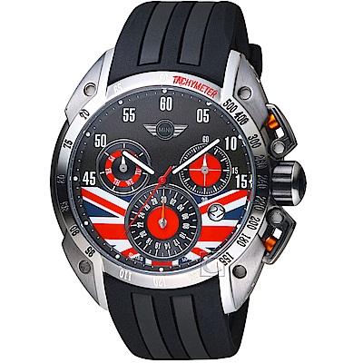 MINI Swiss Watches英國旗經典腕錶時尚腕錶(MINI-160109)